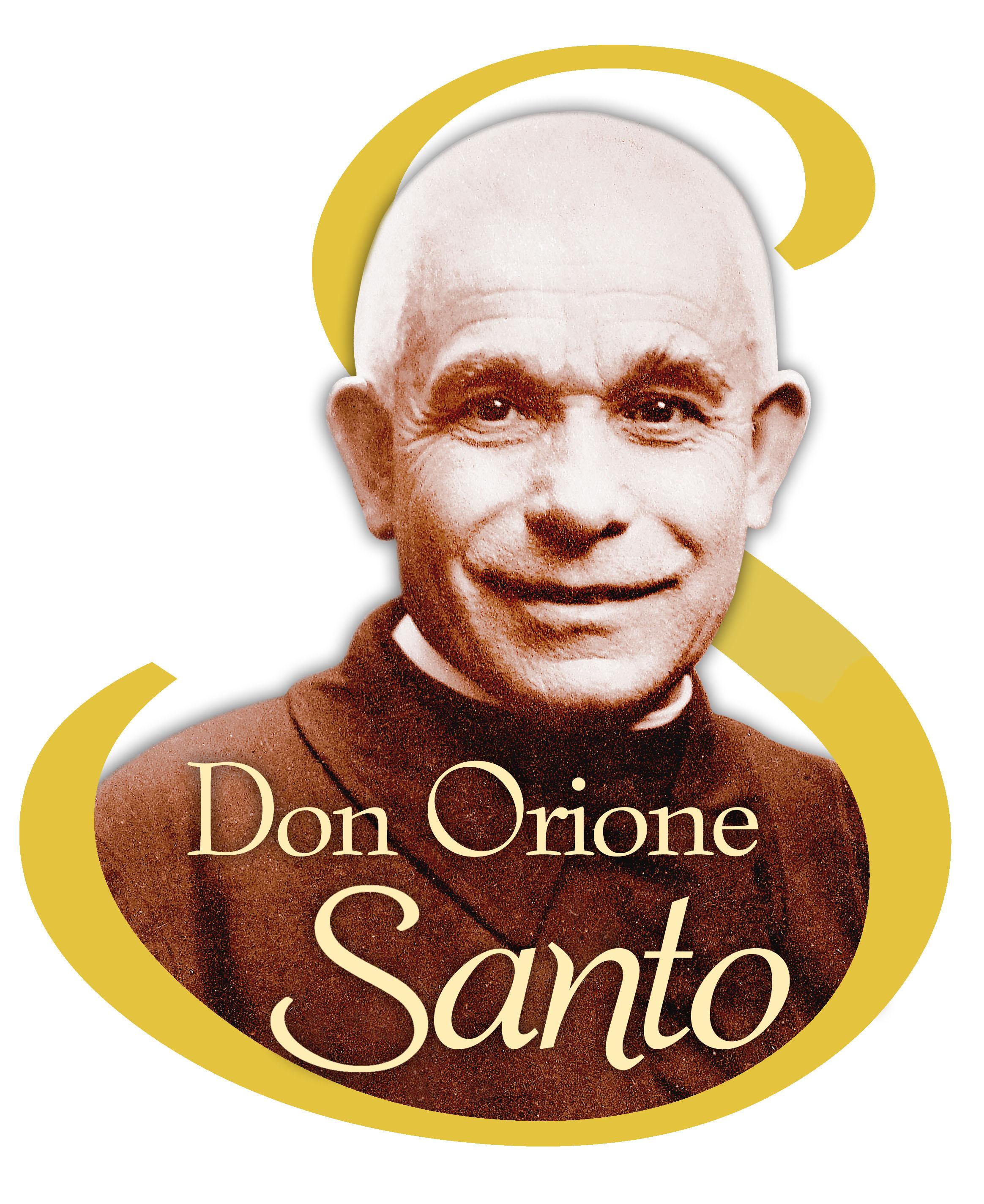 El logotipo de Don Orione Santo