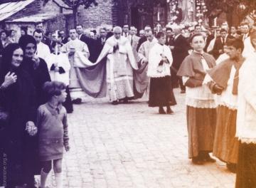 La Primera Semana Santa de Don Orione en Argentina
